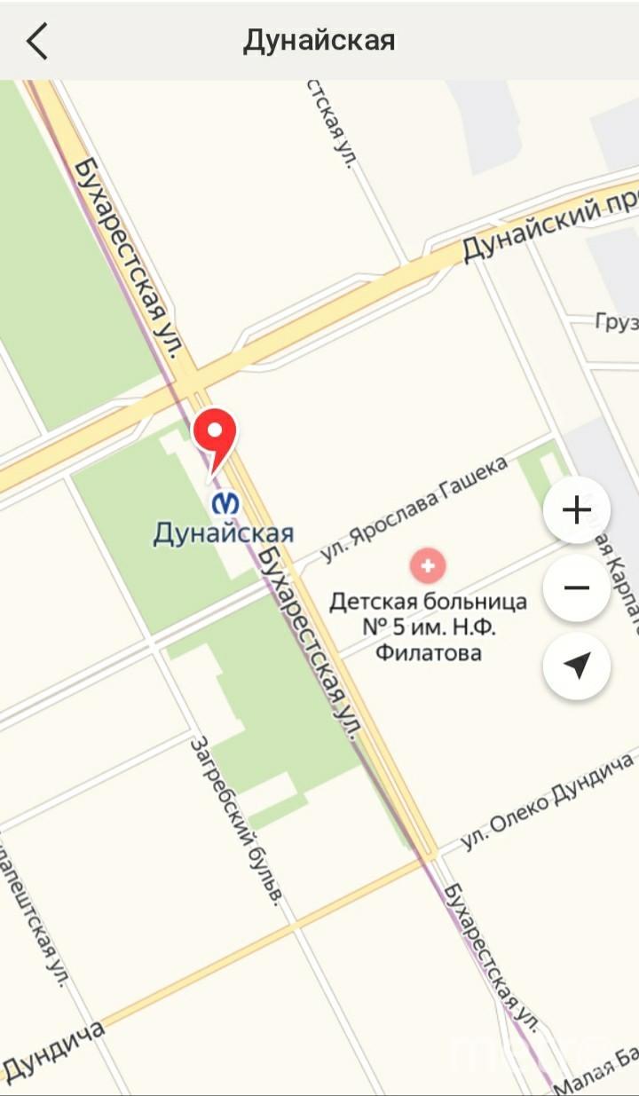 """Станции метро «Проспект Славы», «Дунайская» и «Шушары» уже появились на Яндекс.Картах. Фото """"Metro"""""""