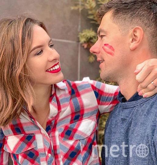 Мария и её муж Алексей. Фото Скриншот Instagram/chaadaeva_maria