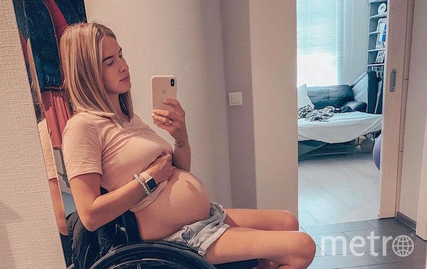 Мария Чаадаева беременна вторым ребёнком. Фото Скриншот Instagram/chaadaeva_maria