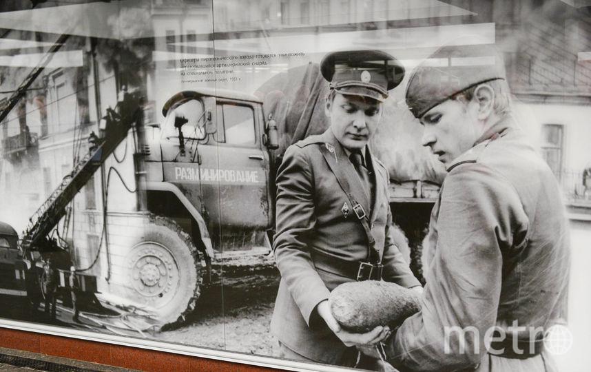 """Экспозиция на """"Проспекте Славы"""". Фото Святослав Акимов, """"Metro"""""""