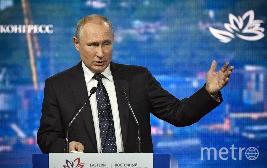 Президент РФ Владимир Путин. Фото AFP