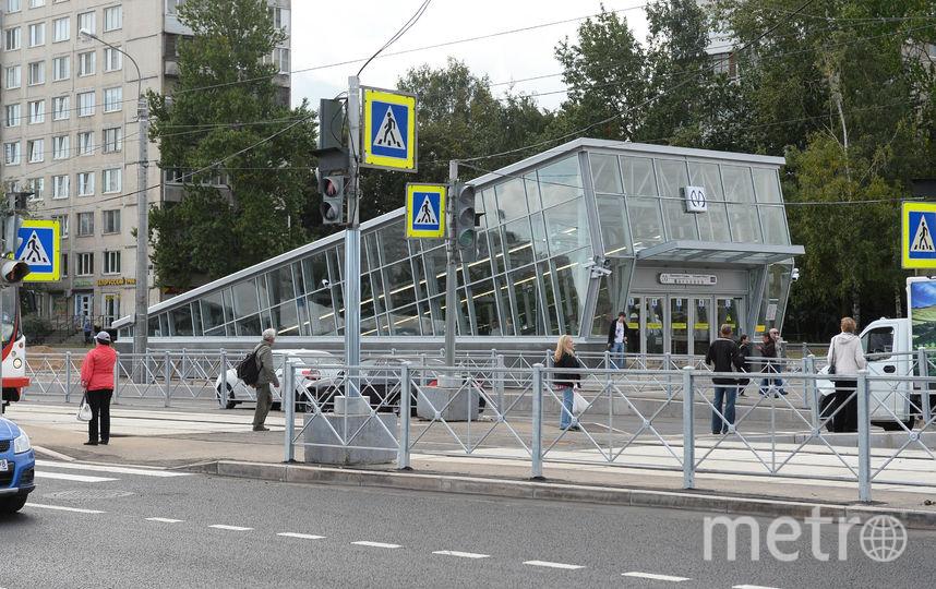 """Для пассажиров станции не открыли. Фото Святослав Акимов, """"Metro"""""""