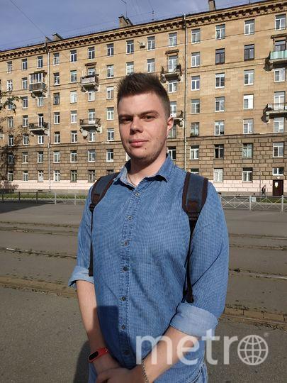 """Виктор, 24 года, юрист. Фото Наталья Сидоровская, """"Metro"""""""