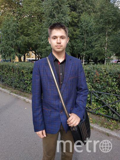 """Марк, 18 лет, студент. Фото Наталья Сидоровская, """"Metro"""""""