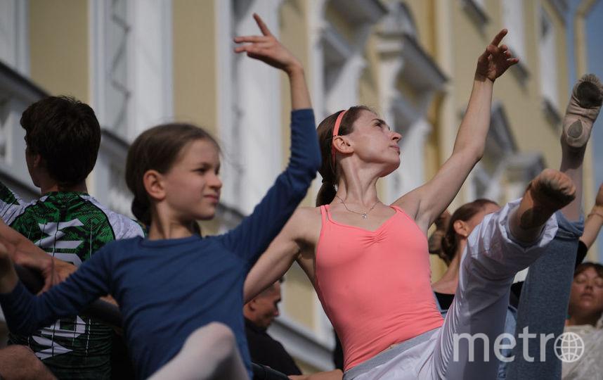 """Репетиция на площади Искусств. Фото Святослав Акимов, """"Metro"""""""