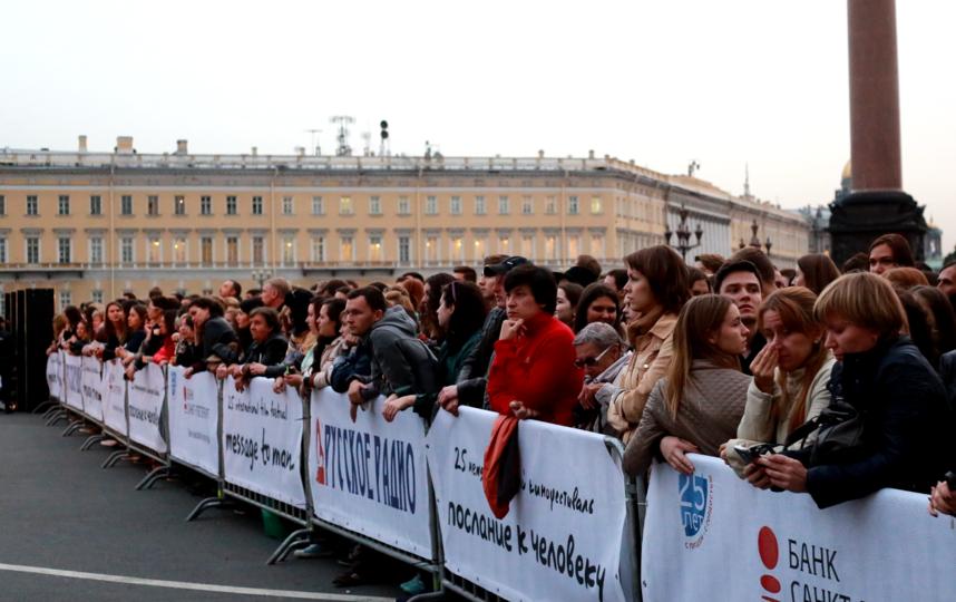Открытие фестиваля на Дворцовой площади. Фото Предоставлено организаторами