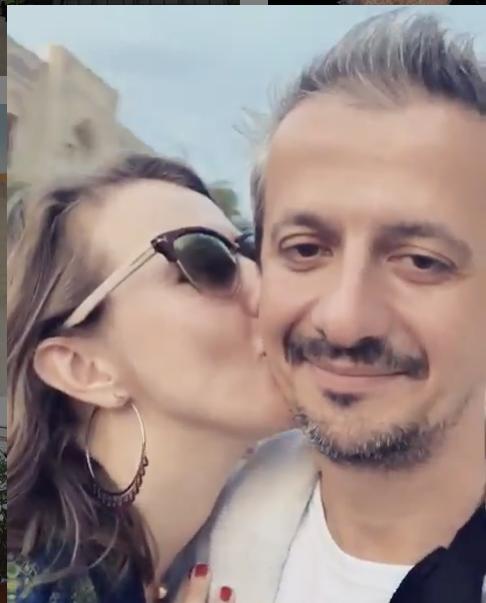 Ксения Собчак и Константин Богомолов. Фото скриншот https://www.instagram.com/xenia_sobchak/?hl=ru