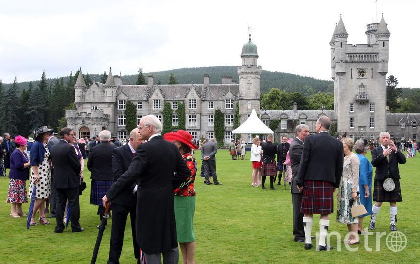 Замок Балморал, частная резиденция английских королей в Шотландии. Фото Getty