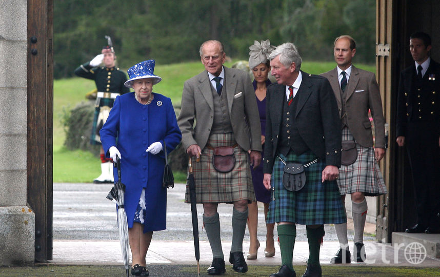 Королевская семья в Шотландии в отпуске, архив. Фото Getty