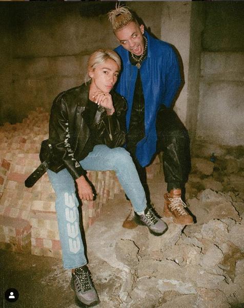 Настя Ивлеева и Элджей. Фото скриншот  instagram.com/nastyaivleeva/