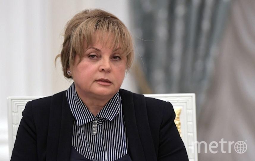 Элла Памфилова. Фото РИА Новости