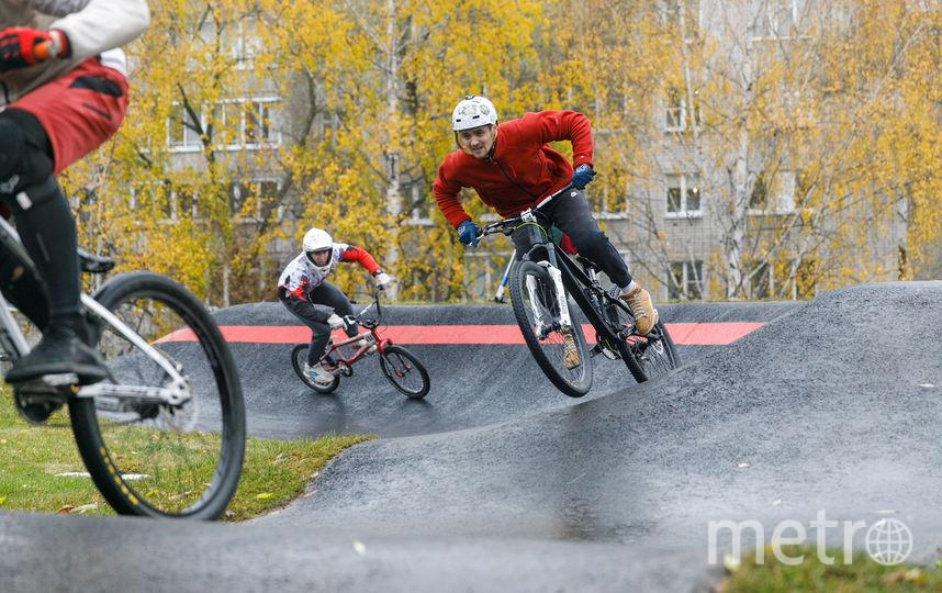 Соревнования Red Bull Pump Track World Championship стартовали в Ижевске. Фото предоставлено организаторами.