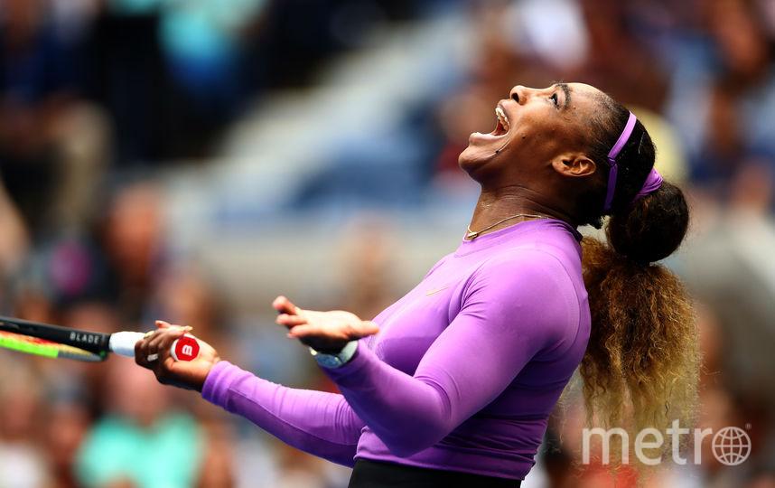 Серена Уильямс проиграла финал уступив 19-летней теннисистке из Канады Бьянке Андрееску. Фото Getty
