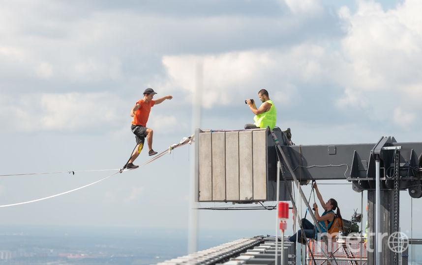 Последние шаги Фриди Кюне на пути к рекорду. Фото Предоставлено организаторами