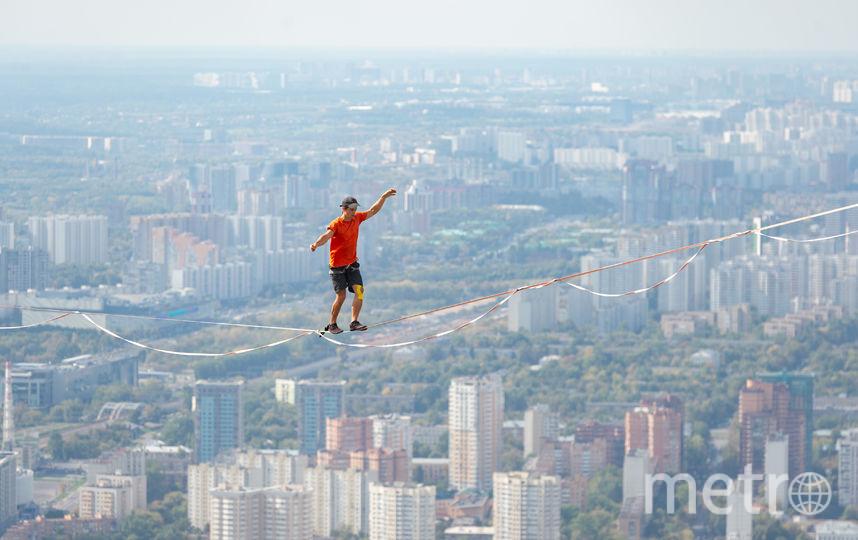 Спортсмены прошли между небоскрёбами. Фото Предоставлено организаторами