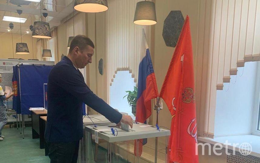 В Петербурге состоялись выборы губернатора. Фото Администрация Петроградского района