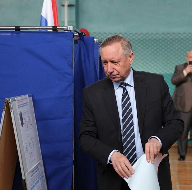 В Петербурге состоялись выборы губернатора. Фото скриншот www.instagram.com/beglovspbgov/