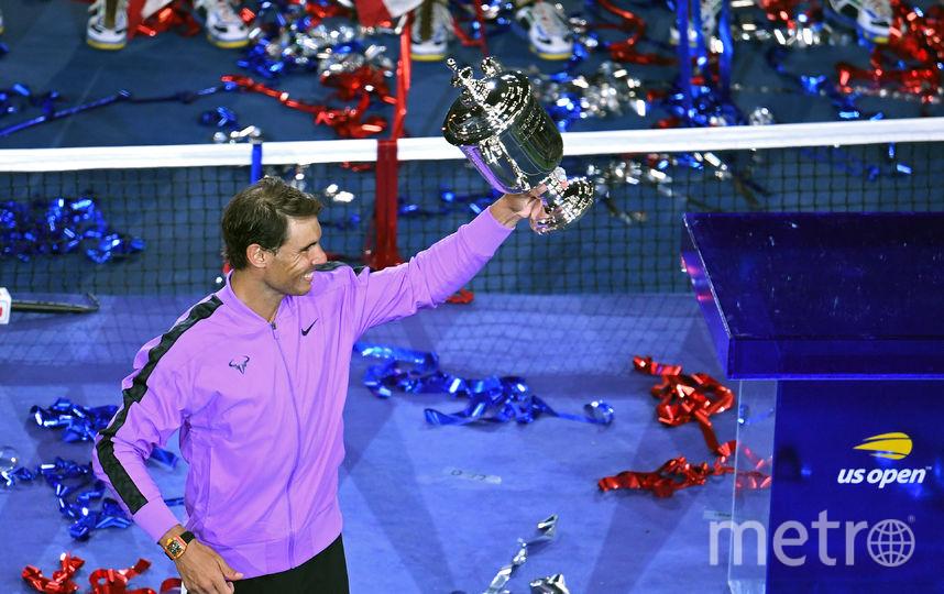 Даниил Медведев проиграл второй ракетке мира — Рафаэлю Надалю. Фото Getty
