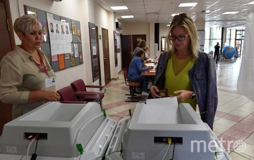 Средняя явка избирателей составила 21,69%. Фото РИА Новости