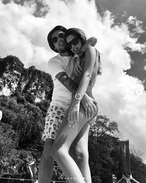 Кети Топурия и Гуф. Фото скриншот: instagram.com/therealguf/
