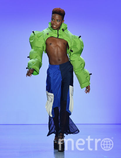 Показ Chromat на Неделе моды в Нью-Йорке. Фото AFP