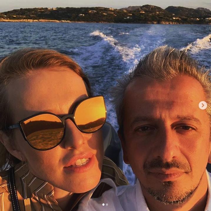 Ксения Собчак и Константин Богомолов. Фото Скриншот Instagram: @konbog75