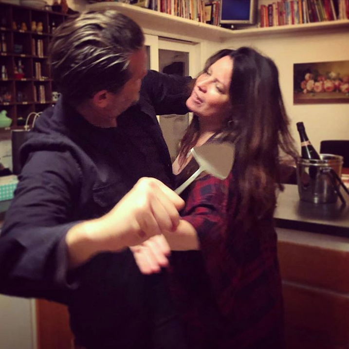 Холли Мари Комбс и Майк Райан. Фото Скриншот Instagram: @thehmc