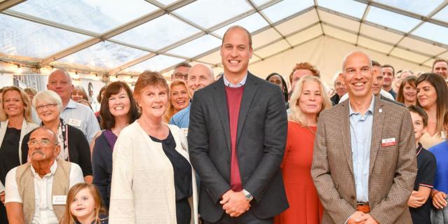 9 сентября принц Уильям посетил благотворительную организацию в Девоне.