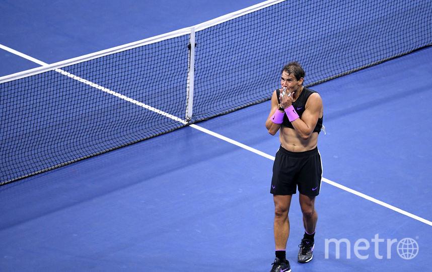 Надаль после тяжело давшейся ему победы не мог сдержать эмоций. Фото Getty