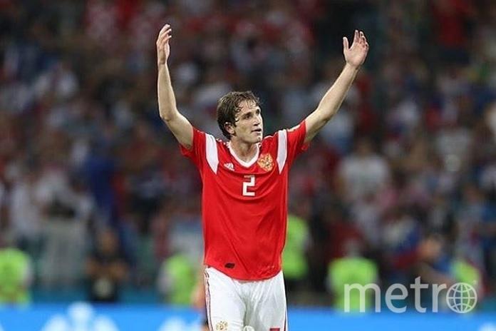 Марио Фернандес принёс победу сборной России. Фото Скриншот @iroteka