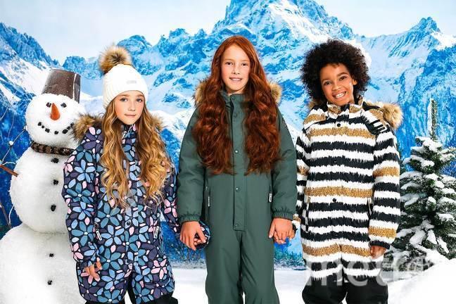 Инновационная зимняя одежда для детей BJÖRKA.