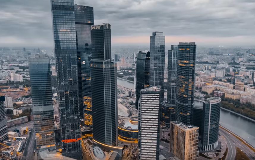 "Кадры из клипа на песню ""Москва"". Фото Скриншот Youtube"