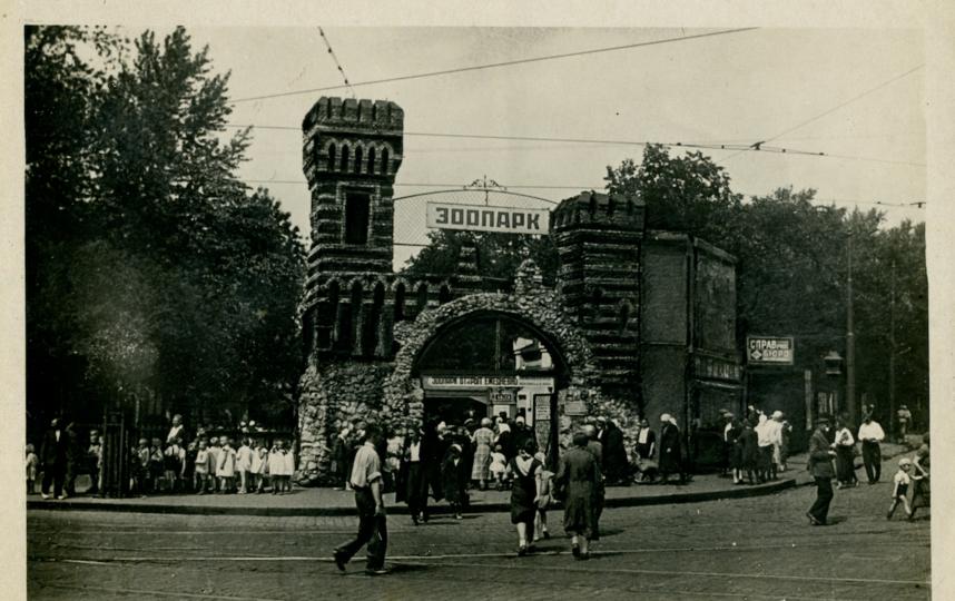 85 лет назад главный вход в зоопарк тоже был похож на замок. Фото Мультимедийный комплекс актуальных искусств