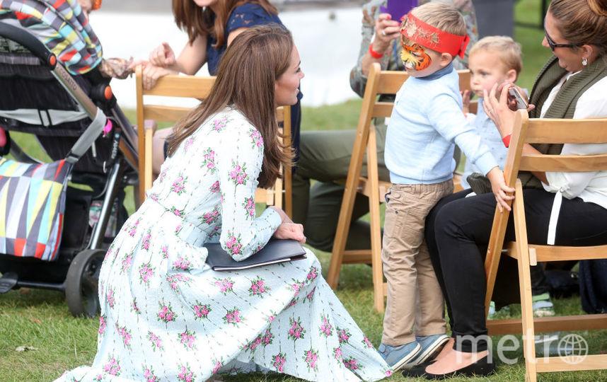 """Кейт Миддлтон открыла новый сад в рамках программы """"Назад к природе"""". Фото Getty"""