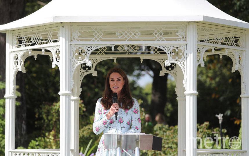 """Кейт Миддлтон открыла новый сад """"Назад к природе"""". Фото Getty"""