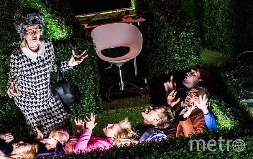 """Сцена из спектакля """"Тартюф"""". Фото  предоставлены пресс-службой театра, """"Metro"""""""