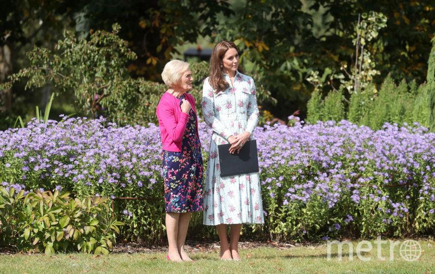 Кейт Миддлтон и Мэри Берри. Фото Getty