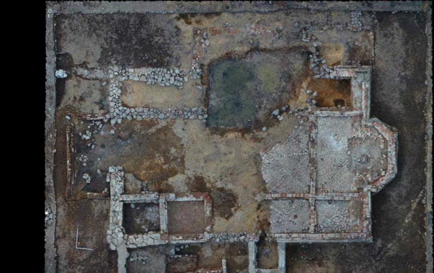 Руины церкви Благовещения Пресвятой Богородицы. Фото пресс-службы ИИМК РАН