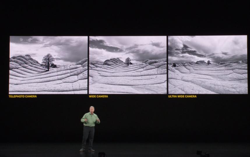 Демонстрация возможностей камеры IPhone11 Pro. Фото Скриншот https://www.apple.com/apple-events/livestream/