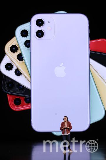 Новый iPhone теперь будет и в салатовом цвете. Фото AFP