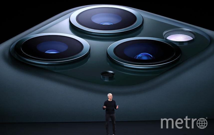 Пользователи Twitter считают, что iPhone 11 Pro со стороны камеры похож на бритву. Фото AFP