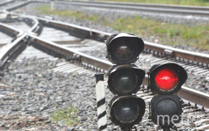 """Железная дорога - зона повышенной опасности! Фото """"Metro"""""""