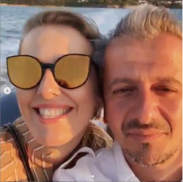 Ксения Собчак и Константин Богомолов. Фото скриншот instagram.com/konbog75/