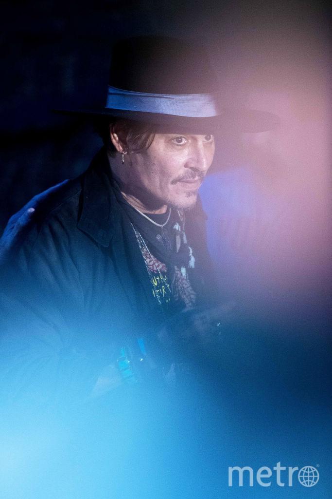 Джонни Депп. Архивное фото. Фото Getty