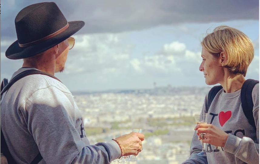 Иван Охлобыстин в Париже, сентябрь 2019. Фото www.instagram.com/psykero1477