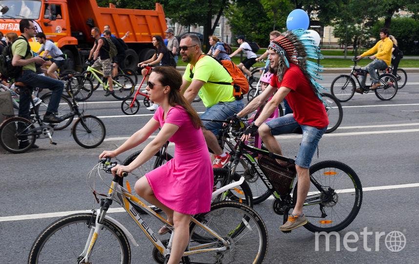 Московский Осенний велофестиваль в этом году состоится 15 сентября. Фото Василий Кузьмичёнок