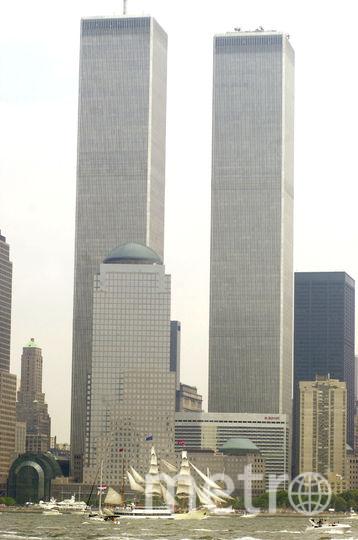 Башни-близнецы в 2000 году. Фото Getty