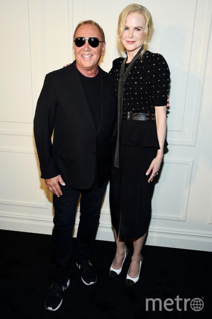 Шоу Michael Kors на Неделе моды в Нью-Йорке. Николь Кидман и Майкл Корс. Фото Getty
