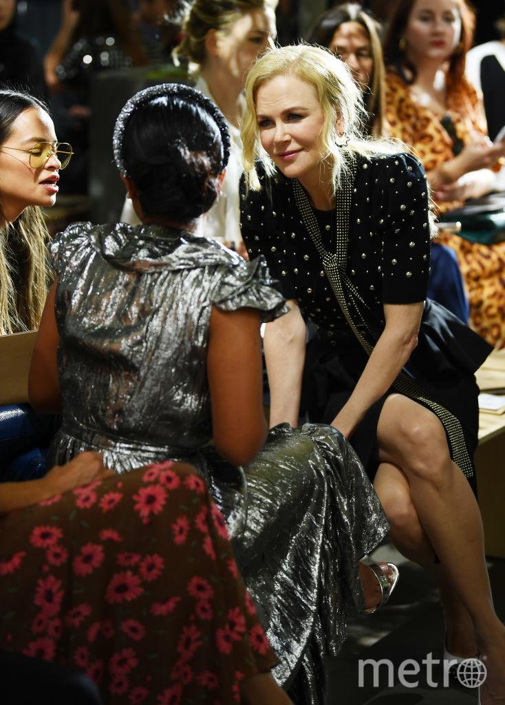 Шоу Michael Kors на Неделе моды в Нью-Йорке. Николь Кидман. Фото Getty