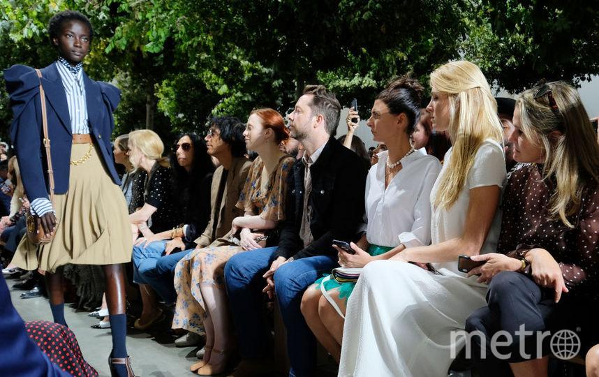 Шоу Michael Kors на Неделе моды в Нью-Йорке. Фото Getty